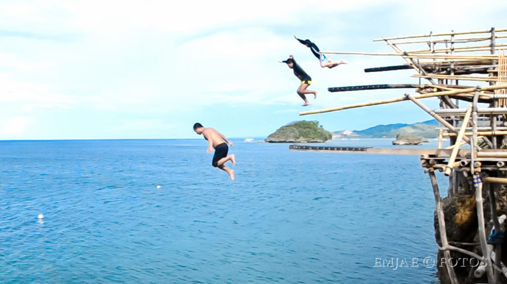 Magic Island Cliff Diving Boracay