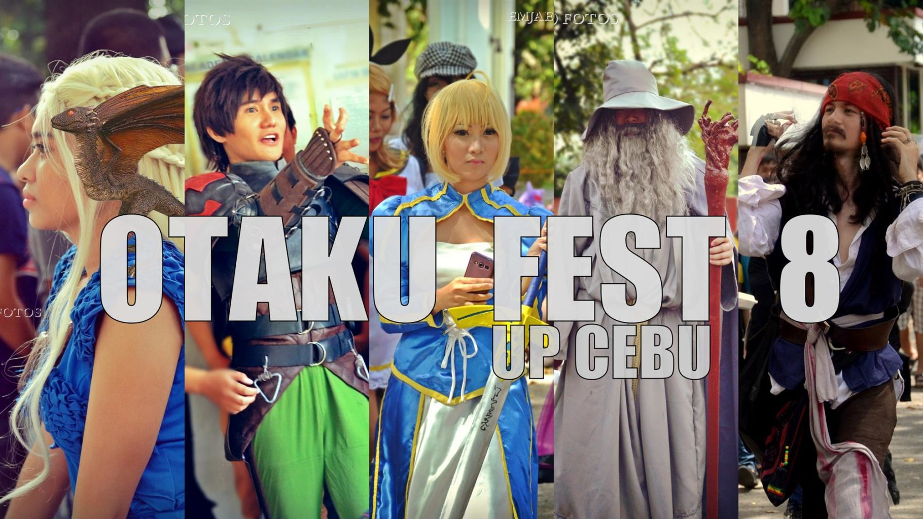 Cosplayers Converged in the Alternate Universe | Otakufest 8