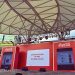 Stage PerfectCoke Launch SarapngFirst