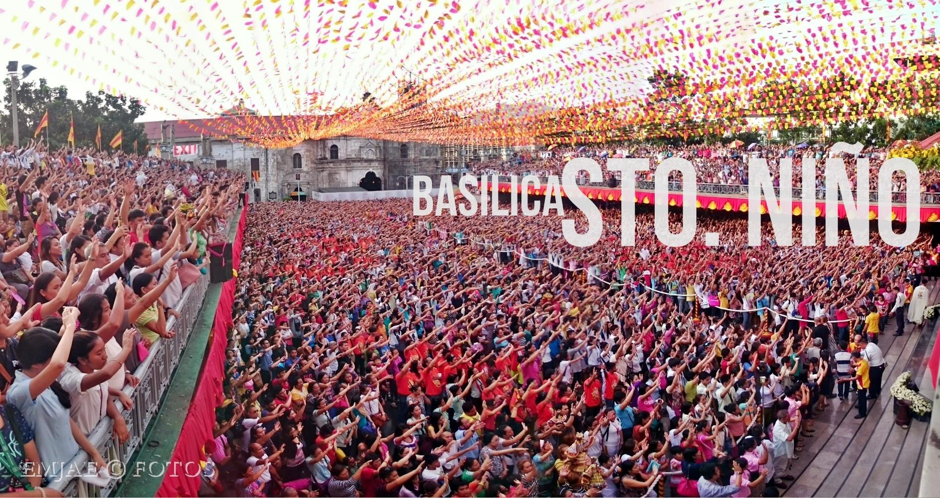 the basilica transformation sinulog 2015
