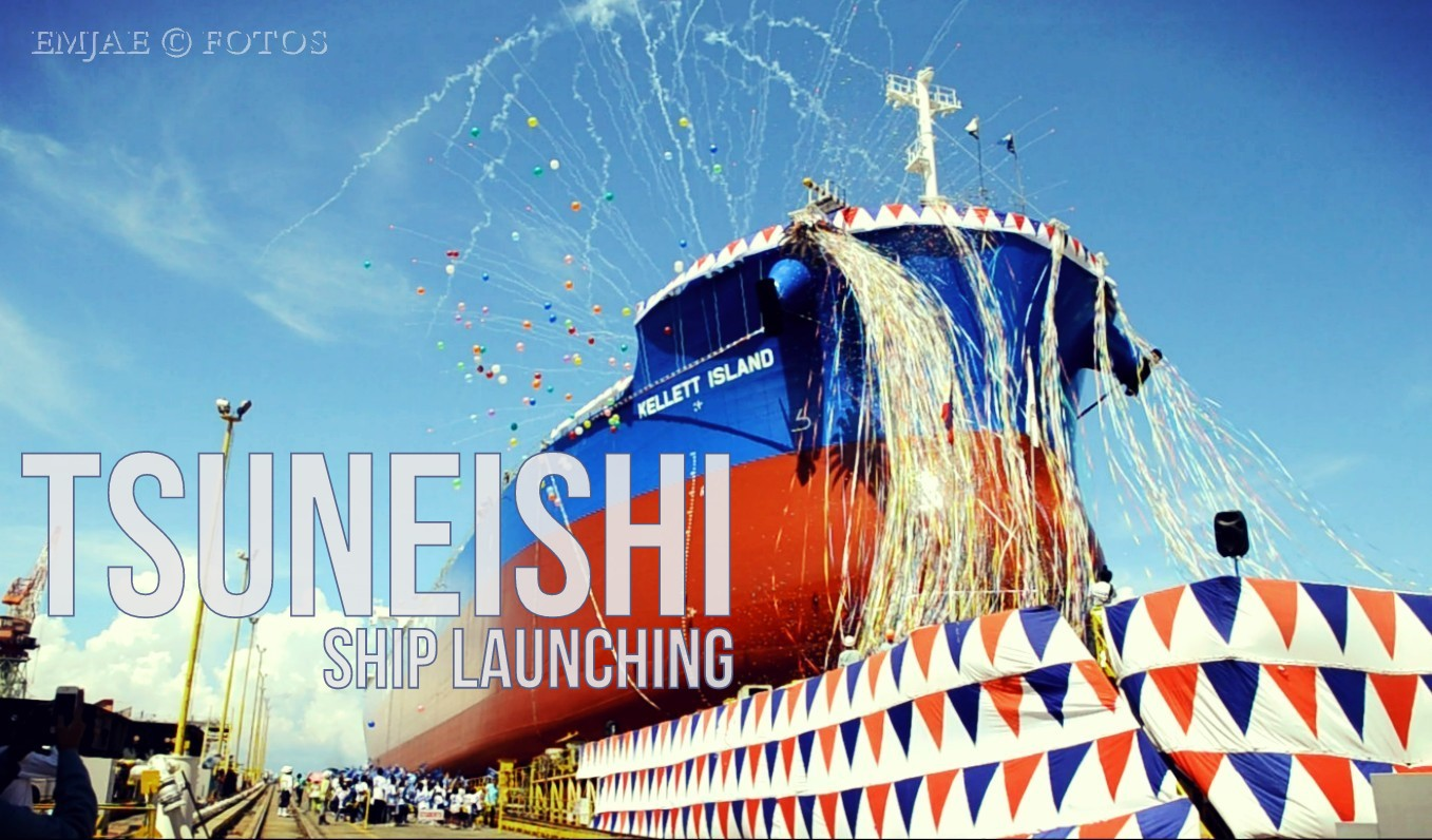 Inside Tsuneishi Ship Launching Ceremony in Balamban, Cebu