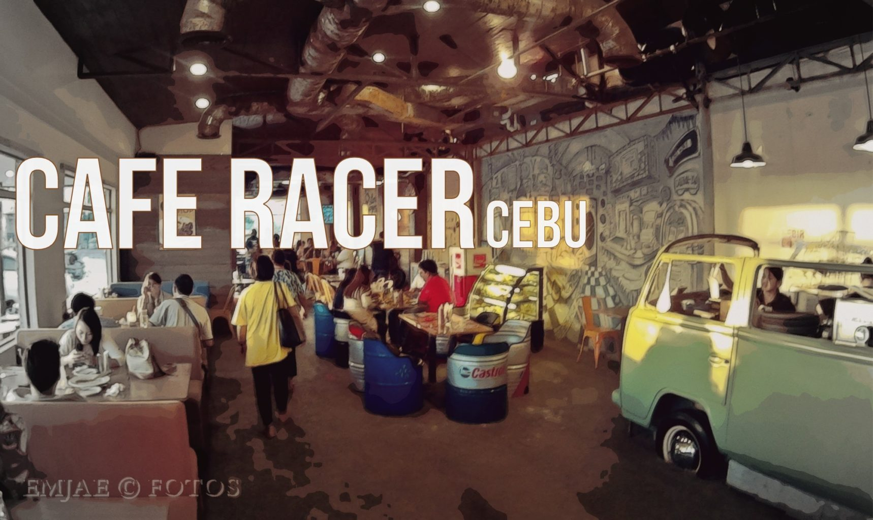 Cafe Racer Cebu: Where Dining Meets Vintage