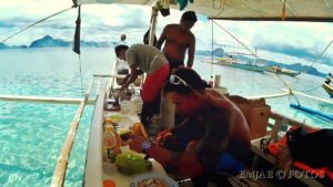Boat Crew El Nido Palawan Island Hopping