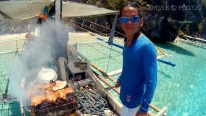Boat Crew Grill El Nido Palawan Island Hopping