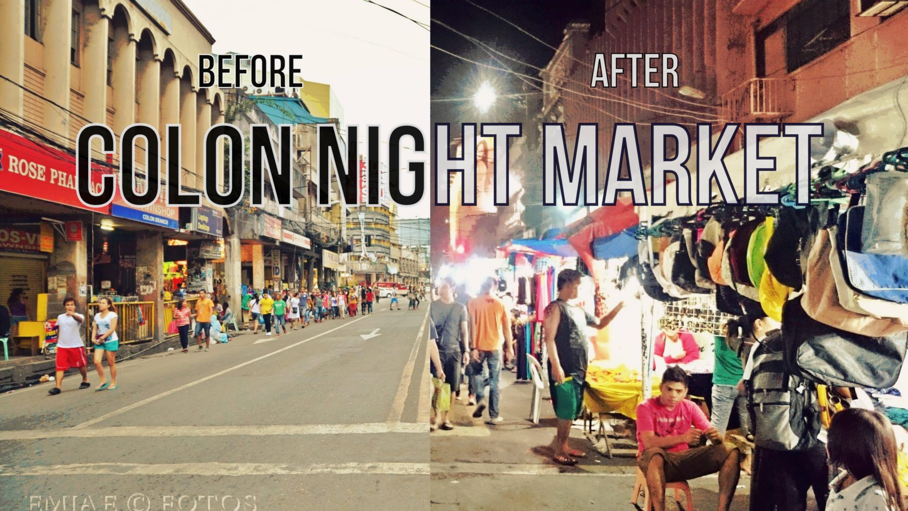 Colon Night Market: A Street Transformation