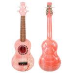 Pink Turtulele Fiberglass Ukulele