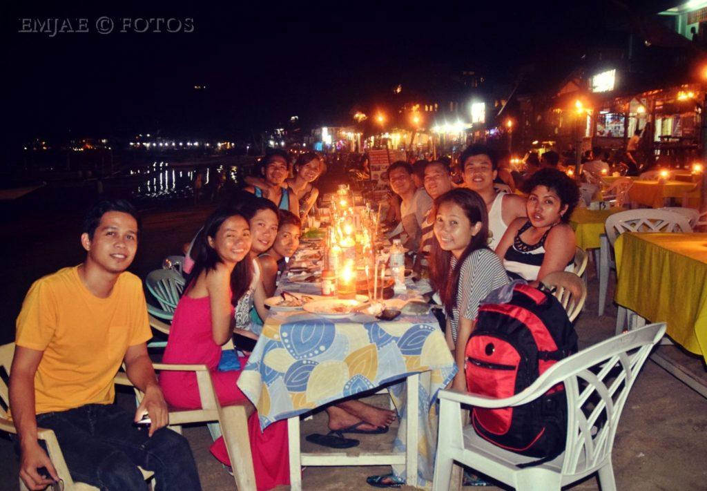 Candlelight Dinner El Nido Barkada Goals
