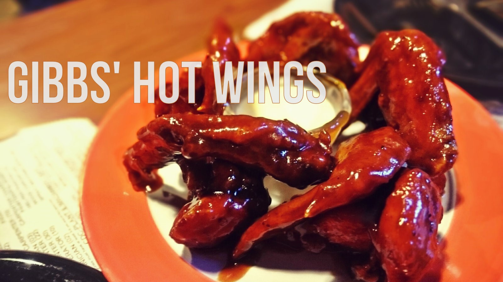 Gibbs' Hot Wings: A Mouthwatering Treat