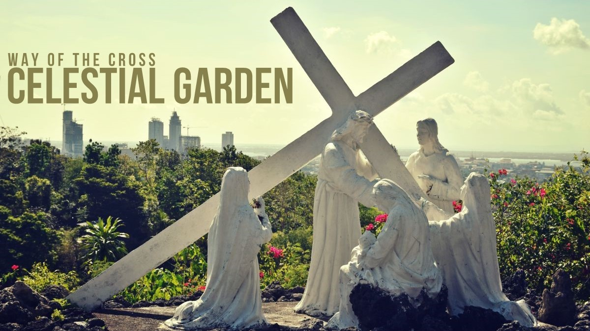 The Way of the Cross in Banawa Celestial Garden