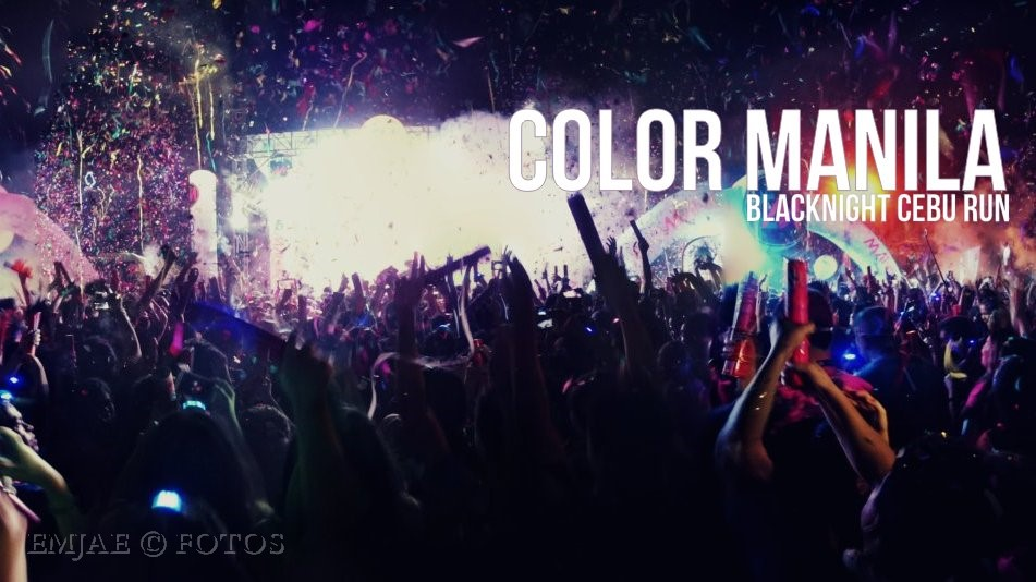 Color Manila Blacklight Cebu Run