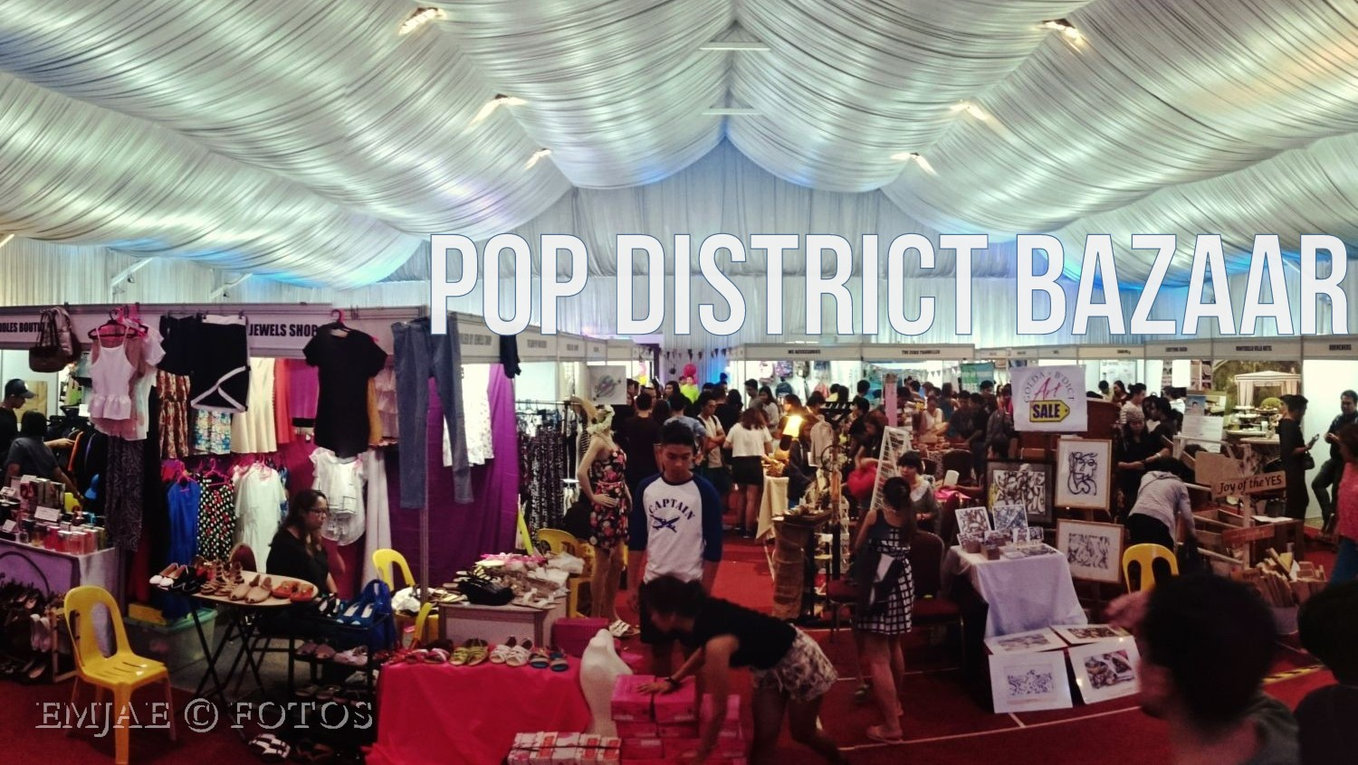 Pop District Bazaar Promotes Cebu Local Startups