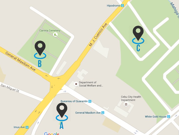 Map Tag CemenTOURyo Cebu Cemeteries Tour