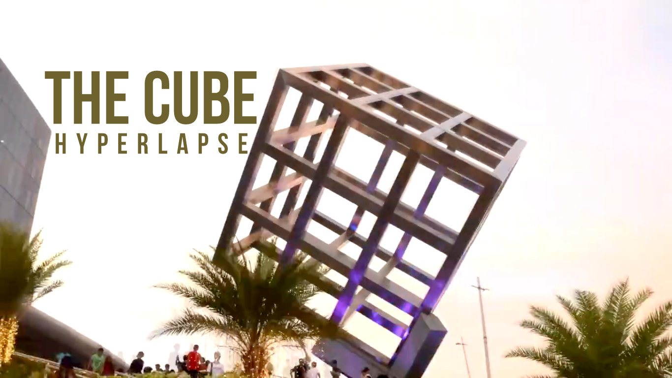 WATCH: The CUBE Hyperlapse at SM Seaside City