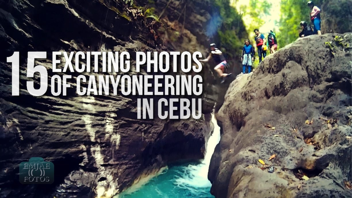 15 Exciting Photos That Will Make You Try Canyoneering in Cebu