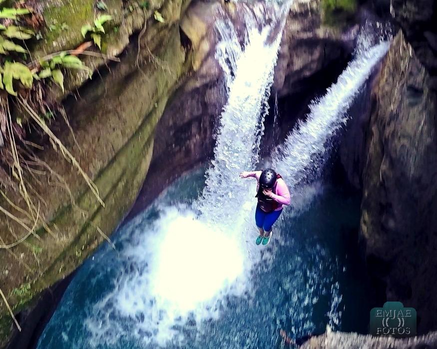 Jump Top 2 Canyoning Canyoneering in Cebu