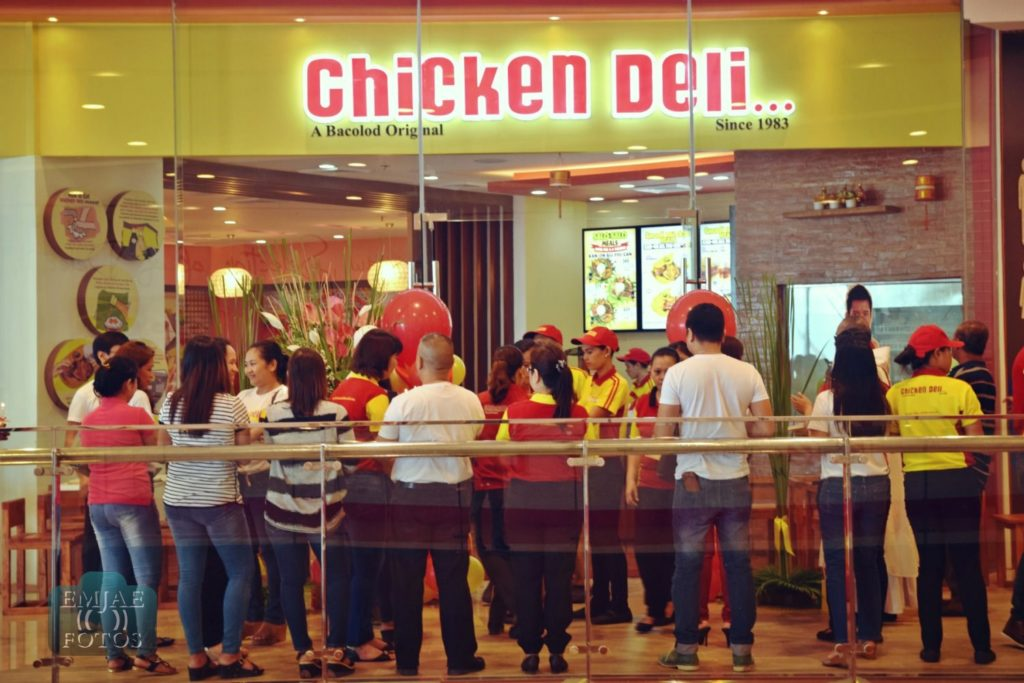 Opening Blessing Chicken Deli Bacolod
