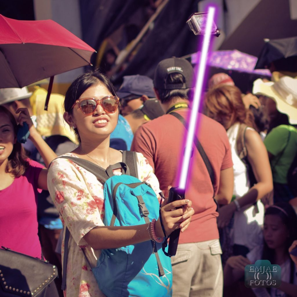 Bag Sinulog Star Wars Cebu Lightsaber
