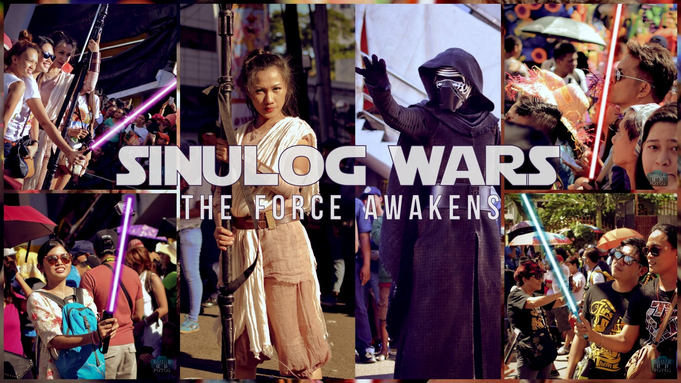 Star Wars Cebu: Monopods Turned Into Lightsabers During Sinulog