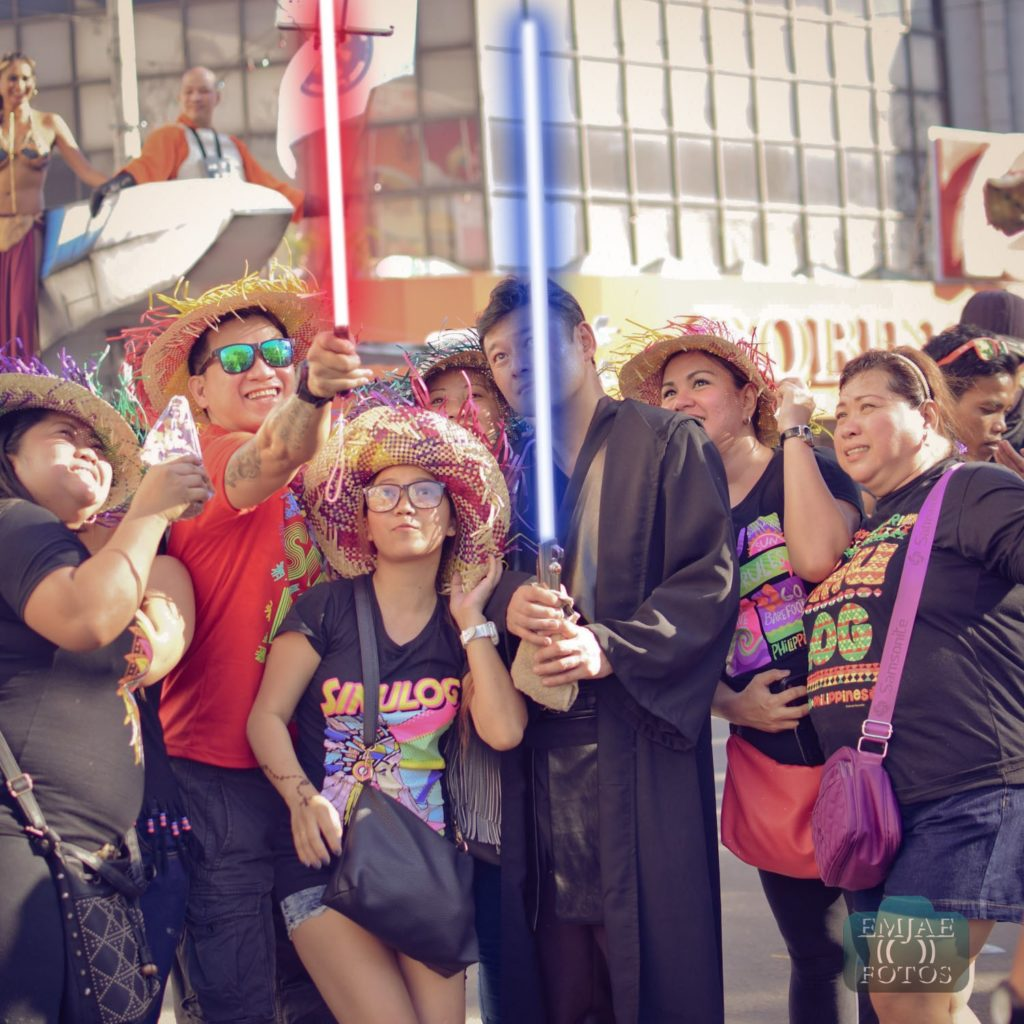 Group Sinulog Star Wars Cebu Lightsaber