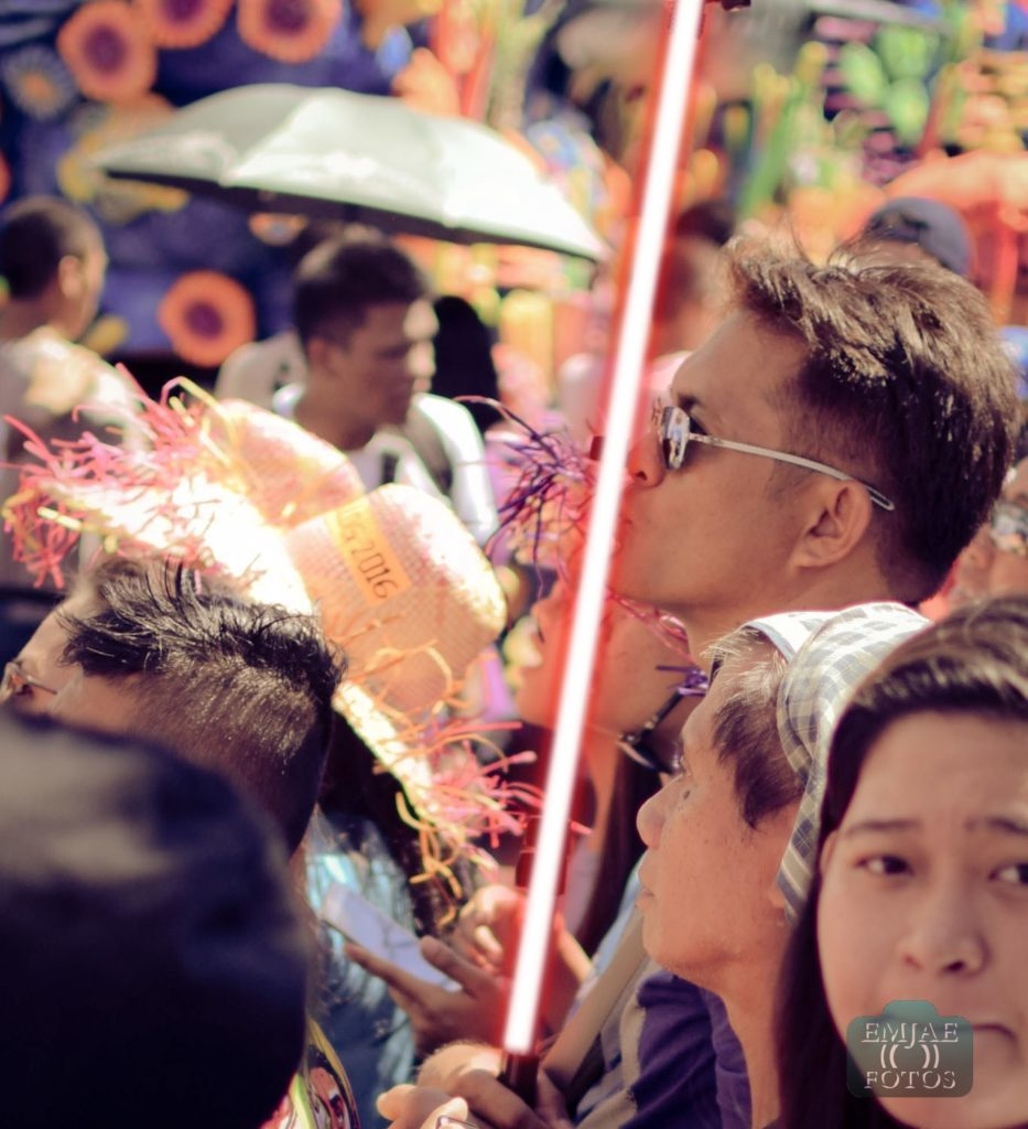 Kiss Sinulog Star Wars Cebu Lightsaber