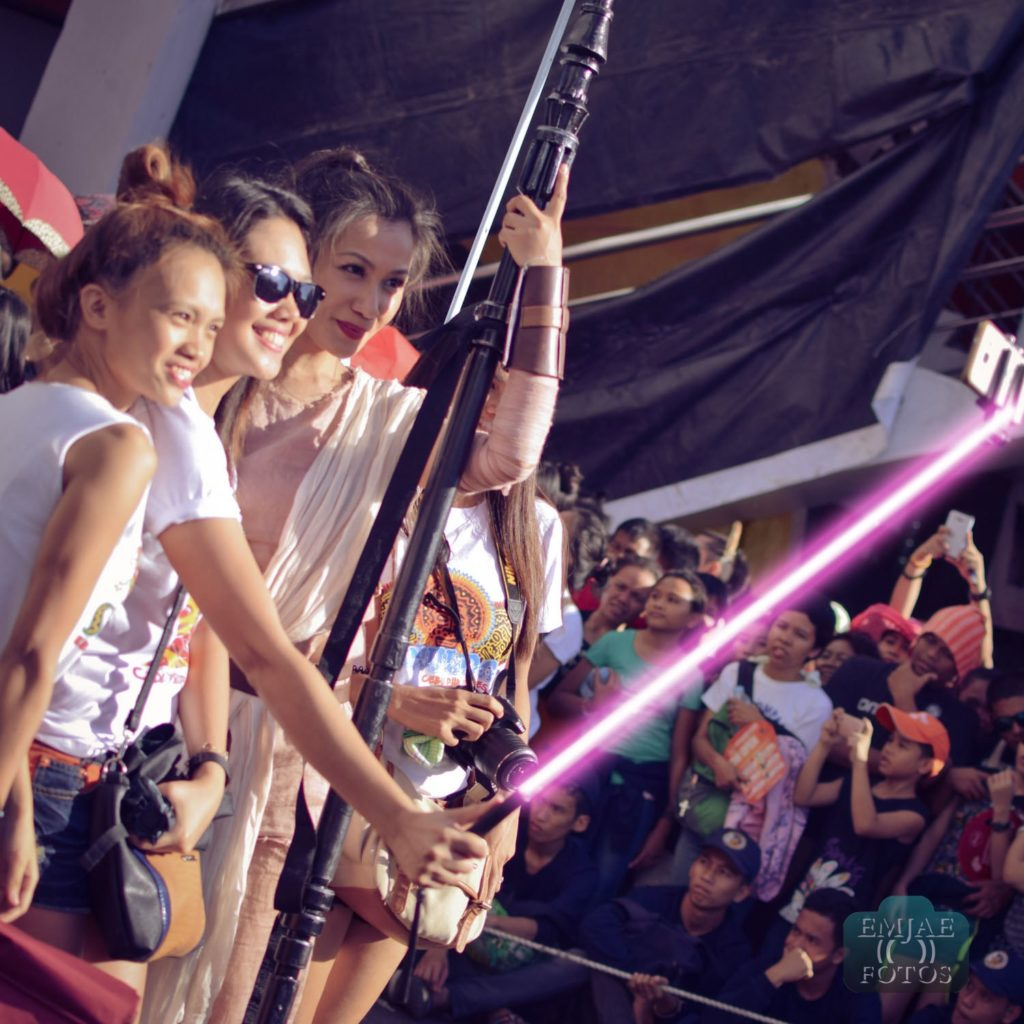 Rey Group Sinulog Star Wars Cebu Lightsaber