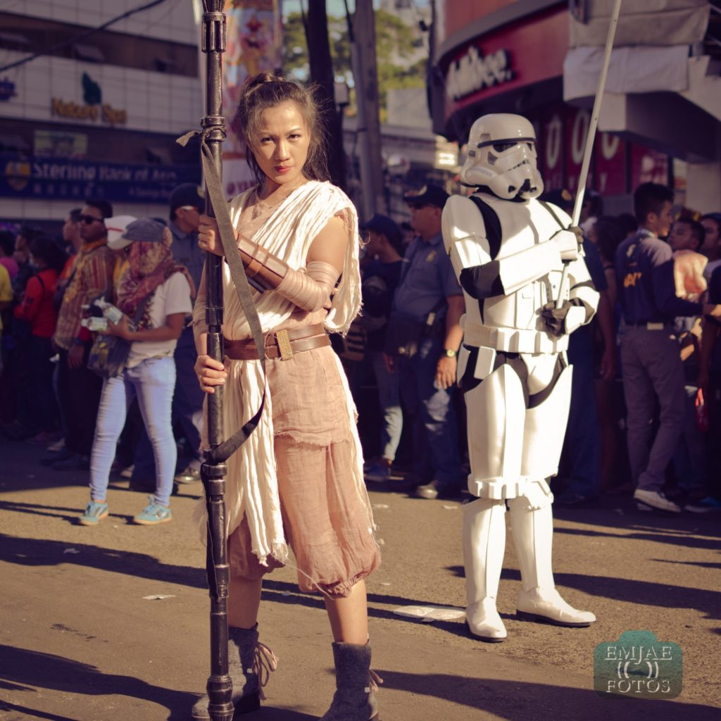 Rey Storm Sinulog Star Wars Cebu Lightsaber