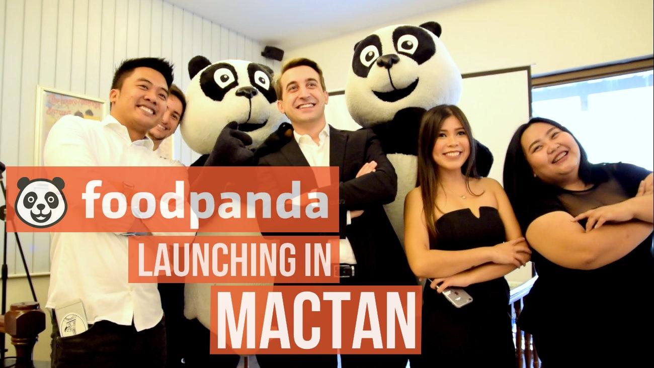 Foodpanda has arrived in Mactan Cebu