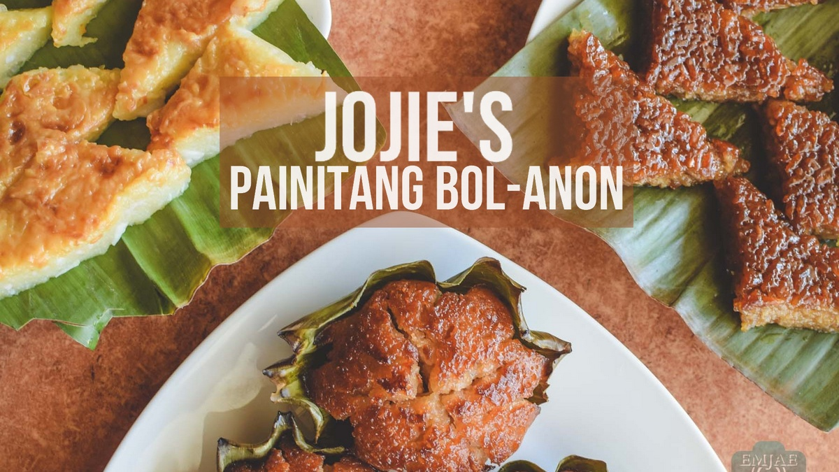 Grab a Pasalubong at Jojie's Painitang Bol-anon when in Bohol