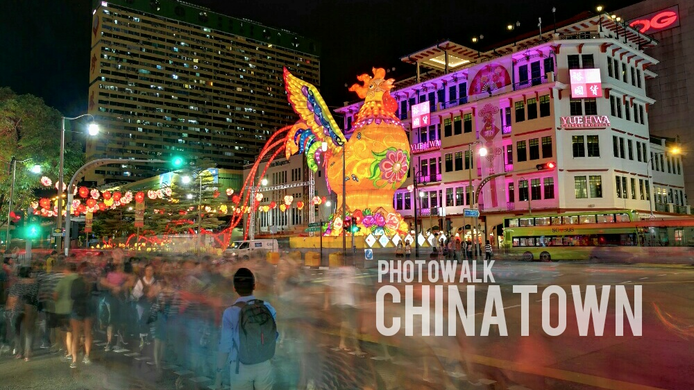 Singapore Chinatown At Night Captured on a Smartphone | Fotowalk