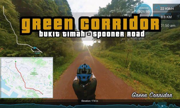 10KM Green Corridor Non-Stop | Bukit Timah to Spooner Road