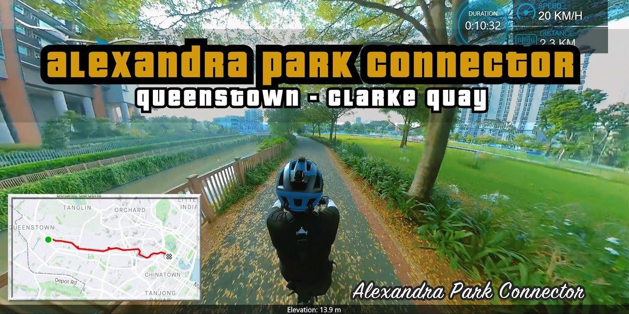 5KM Queenstown to Clarke Quay via Alexandra Park Connector