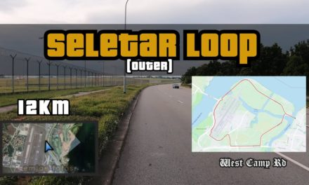 12KM Seletar Loop (Outer) Anti-Clockwise Route