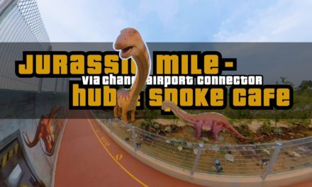 3.5KM Changi Airport Connector to Jurassic Mile, Hub & Spoke Cafe