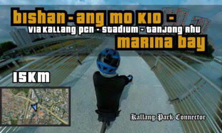 15KM Bishan-Ang Mo Kio Park to Marina Bay via Kallang PCN