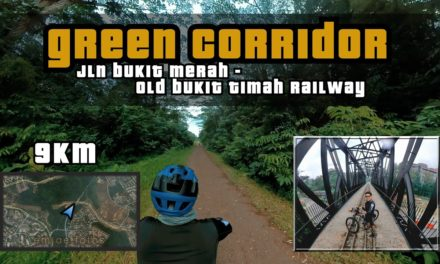 9KM Green Corridor | Jalan Kilang Barat to Old Bukit Timah Railway Station