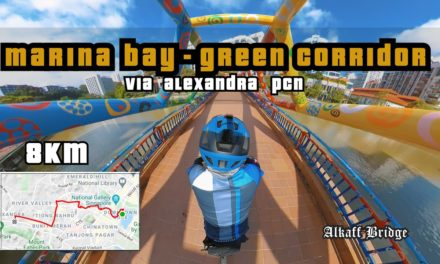 8KM Marina Bay to Green Corridor via Alexandra PCN