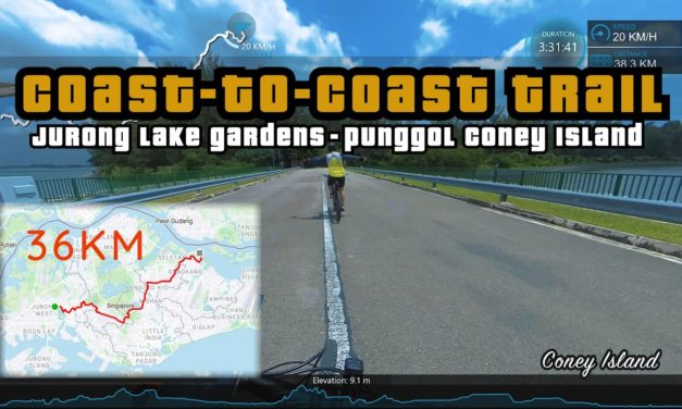 36KM Coast to Coast Trail | Jurong to Punggol Cycling Route