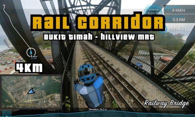 4KM Rail Corridor Central | Old Bukit Timah Railway to Hillview MRT