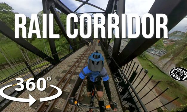 360 VR of Rail Corridor Central | Rail Mall to Old Bukit Timah Railway Station