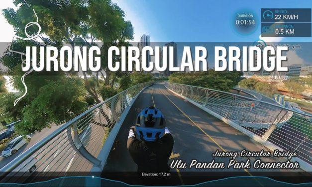 Jurong Circular Bridge at Ulu Pandan Park Connector