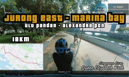 18KM Jurong East to Marina Bay via Ulu Pandan and Alexandra PCN