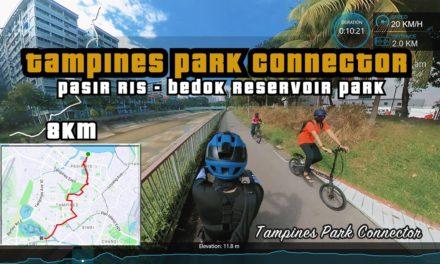 8KM Tampines Park Connector | Pasir Ris to Bedok Reservoir