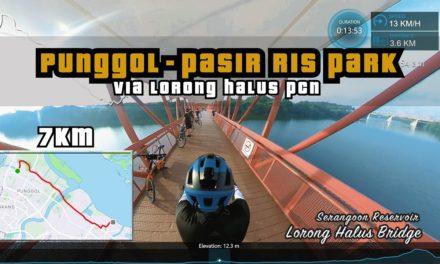 7KM Punggol Waterway to Pasir Ris Park via Lorong Halus PCN