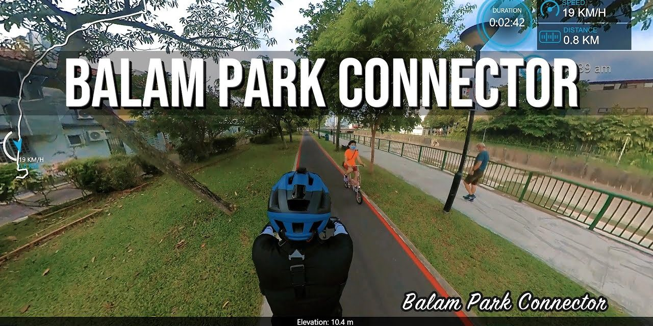 1KM Balam Park Connector to Circuit Road Hawker Centre