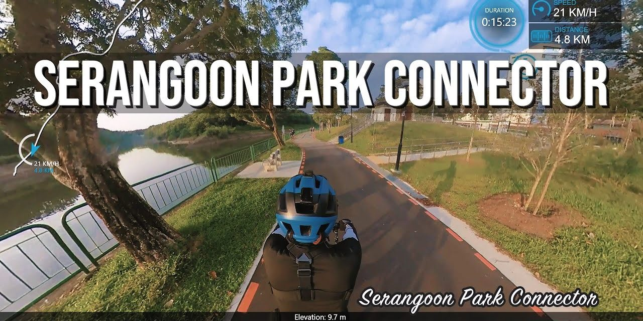 Serangoon Park Connector along the Serangoon River