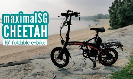 Review: maximalSG Cheetah 16-inch Foldable E-Bike