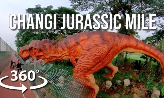 Tour: Meet dinosaurs at Changi Jurassic Mile Singapore
