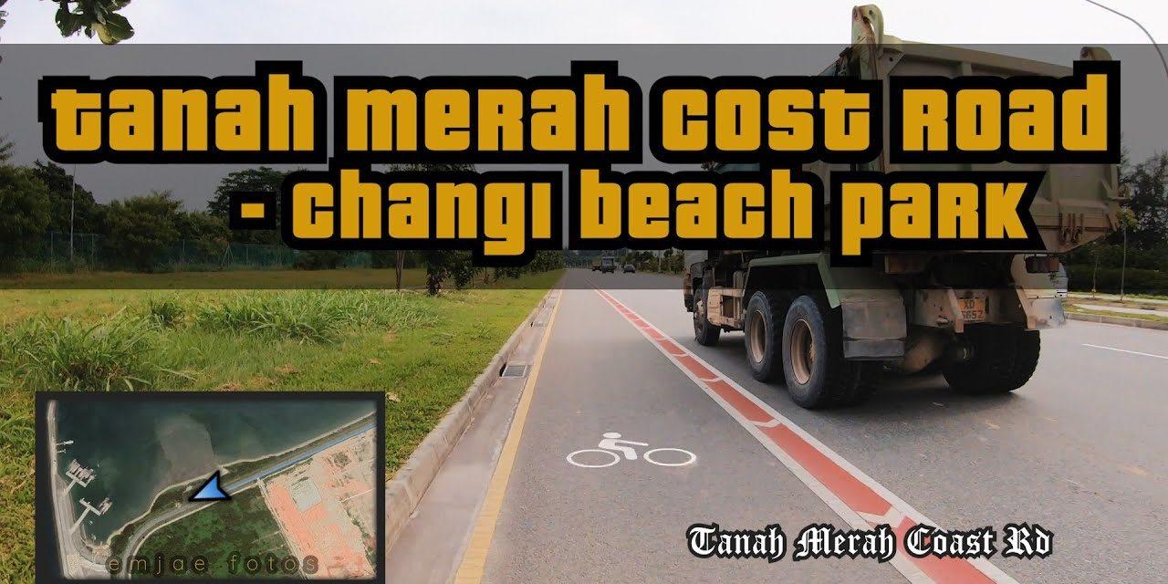 10KM Bike Lane at Tanah Merah Coast Road Cycling Route